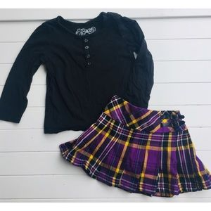 Top & Skirt Set, The Children's Place, 3T